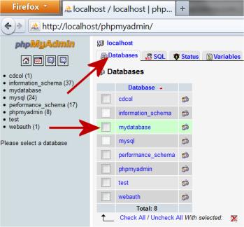 Lektion 18 datenbanken und tabellen erstellengertutorial for How to make a table in html